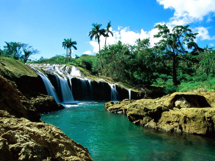 El Nicho Falls Cuba1600 x 1200 (700x525, 185Kb)
