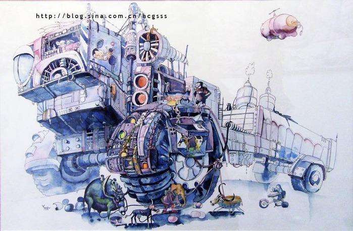 Иллюстрации и графика от huangchaogui 41