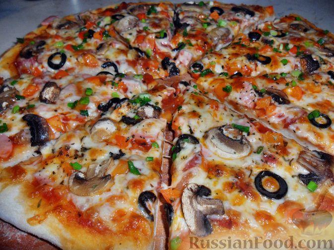 пицца с ветчиной (673x504, 91Kb)