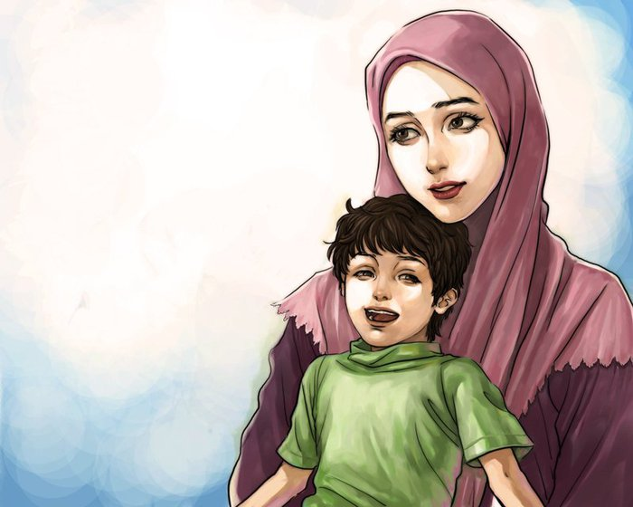 1296810359_mother_and_child_by_krrow (700x560, 54Kb)