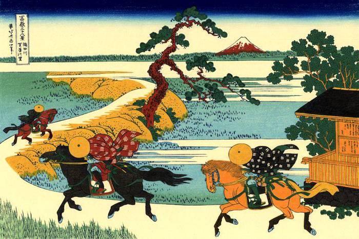 1Кацусика Хокусай. (700x467, 77Kb)