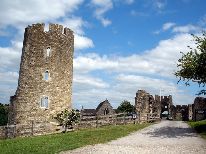 Замок Фарлейг Хангерфорд - Farleigh Hungerford Castle 58700