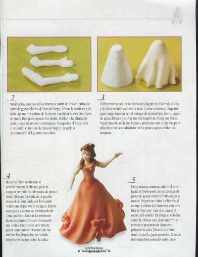 Кукла из соленого теста своими руками пошаговая инструкция