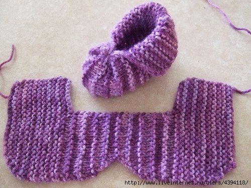 Туника из шарфов своими руками