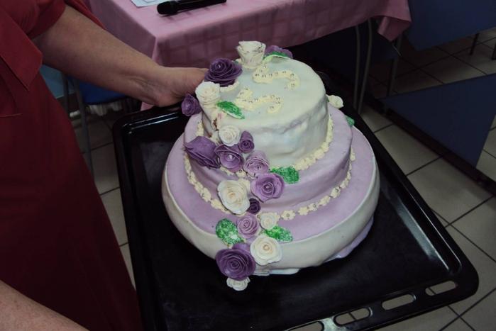как делаютфото на тортах