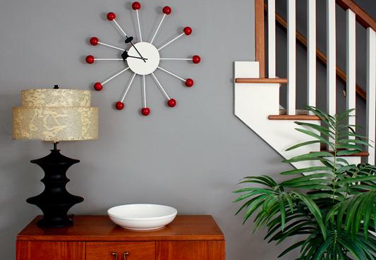 craft home decor: handmade fancy wall clock tutorial