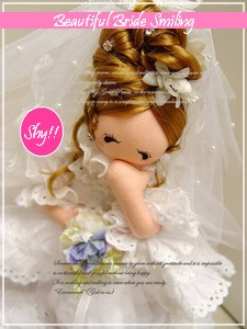 Korean Cute Wedding Bride Doll (225x300, 53Kb)
