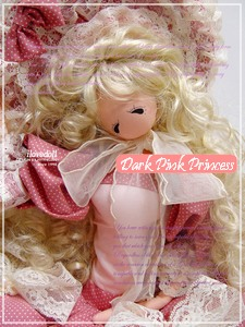 korean dark pink princess doll 1 (225x300, 68Kb)