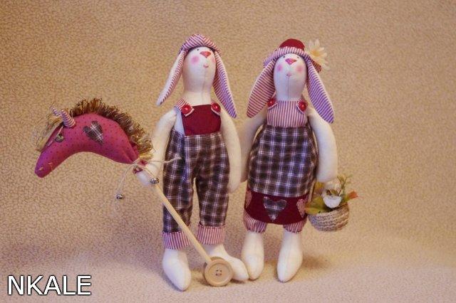 Кукла тильда заяц своими руками для начинающих