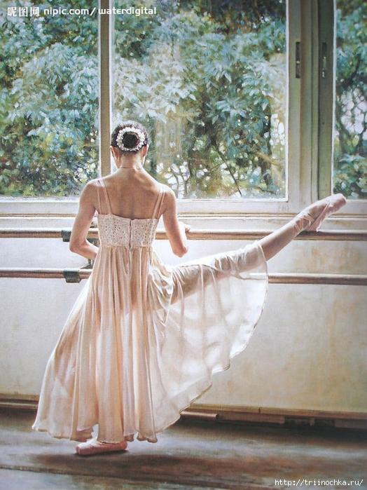 Guan Zeju. Безумно грациозна и изящна! Прекрасные балерины!