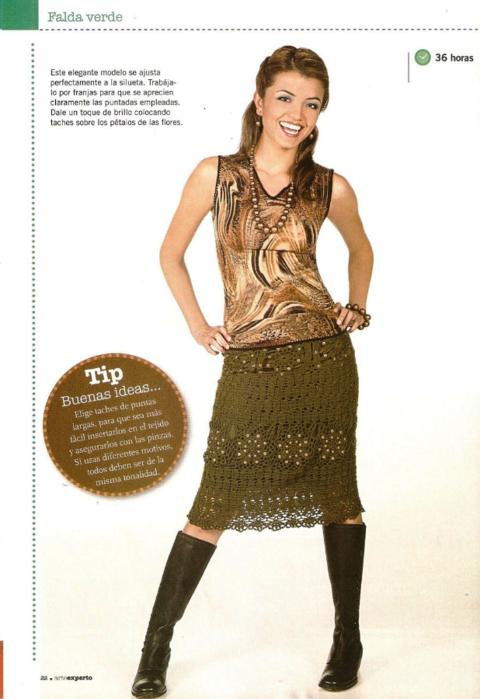 falda femenina crochet tricot instrucciones (480x700, 385Kb)