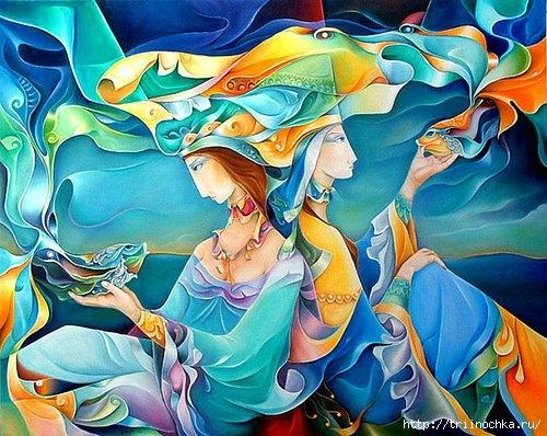 Чудесные образы прекрасных женщин Orestes Bouzon!
