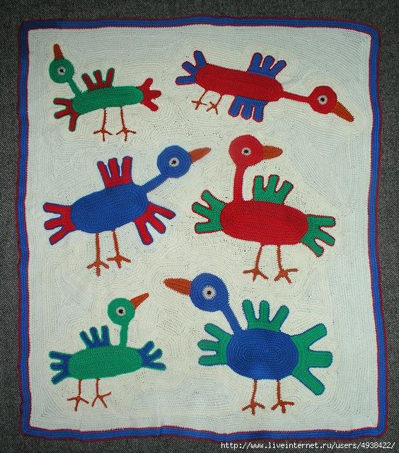 """儿童床罩毯""""幻想的童话世界"""" - maomao - 我随心动"""