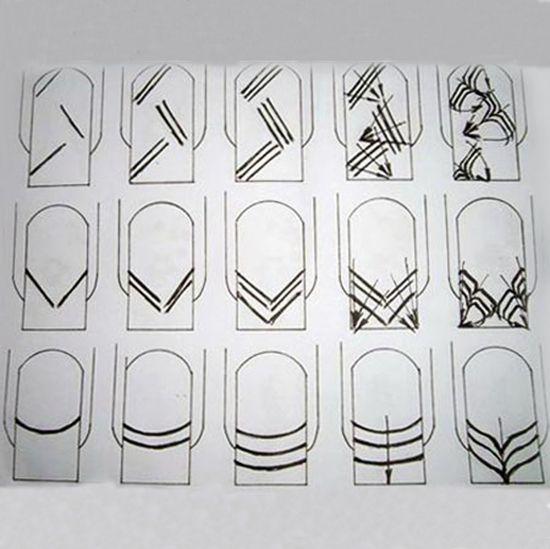Дизайн простым лаком