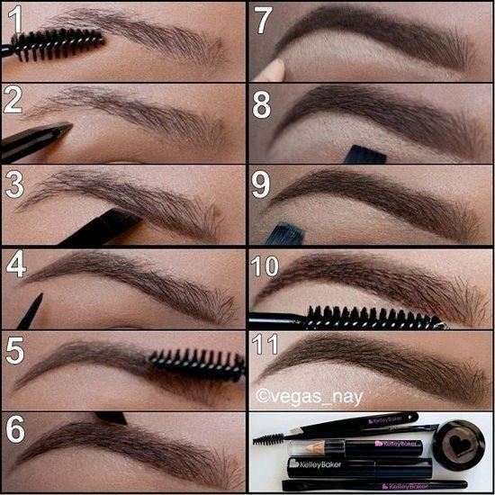 Часть 16 - дымчатый макияж