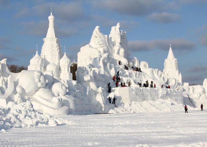 фестиваль ледяных скульптур харбина 20 (700x498, 243Kb)