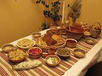 Стол в сочельник и Рождество. Рецепты, традиции празднования.