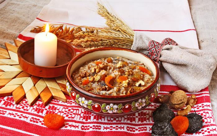 Кутья с маслом - традиционное блюдо на Василия