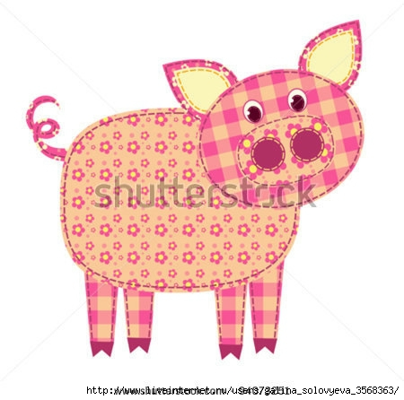 stock-vector-application-pig-isolated-on-white-patchwork-series-vector-illustration-94073251 (450x446, 101Kb)