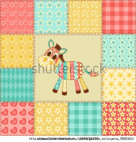 stock-vector-zebra-vintage-patchwork-pattern-vector-background-158931107 (450x470, 180Kb)