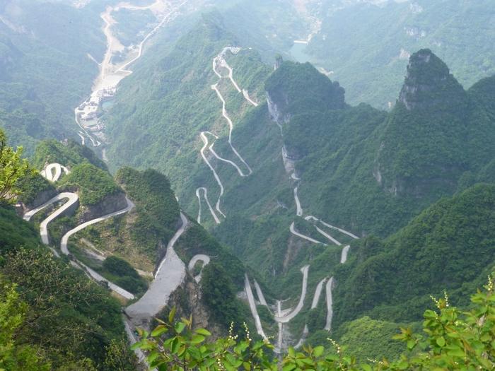 дорога небесных ворот китай 2 (700x525, 301Kb)