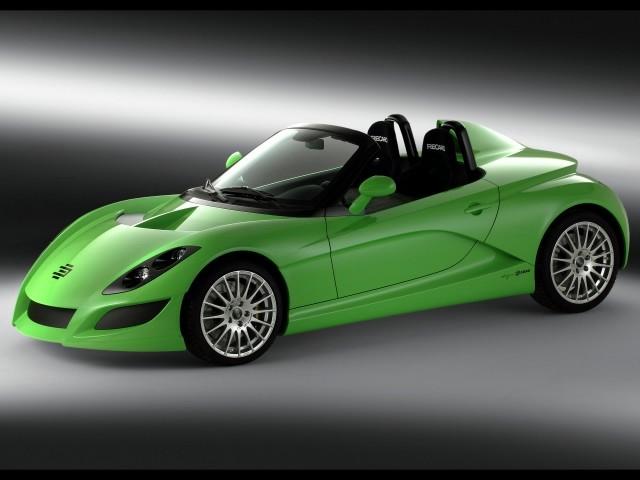2. Зелёный кабриолет Edag (640x480, 85Kb)