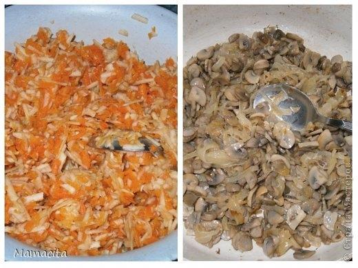 Грибной салат в праздничном оформлении (4) (520x390, 141Kb)