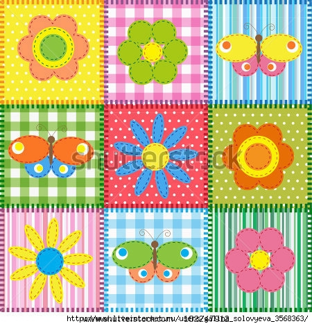 stock-vector-patchwork-with-butterflies-and-flowers-baby-seamless-background-102247912 (450x470, 212Kb)