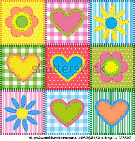 stock-vector-patchwork-with-hearts-and-flowers-vector-seamless-background-103369139 (450x470, 214Kb)