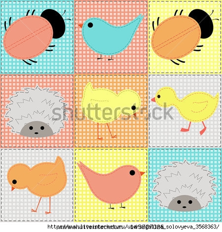 stock-vector-seamless-background-with-baby-animals-patchwork-145607026 (450x470, 189Kb)