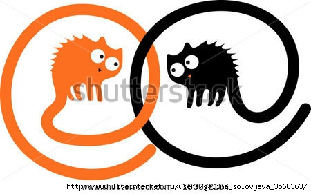 stock-vector-two-angry-cartoon-cats-103072184 (450x281, 68Kb)