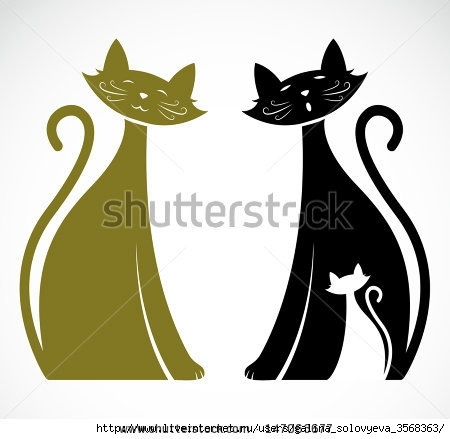 stock-vector-vector-image-of-an-cat-147063677 (450x439, 70Kb)