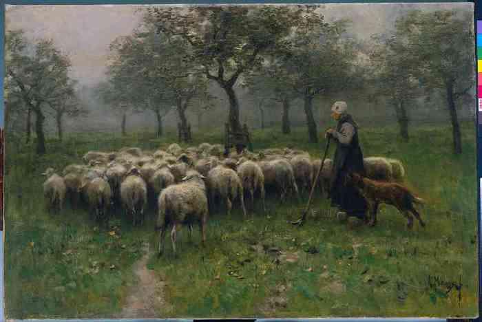 15 Anton_Mauve_-_Herderin_met_kudde_schapen (700x468, 22Kb)