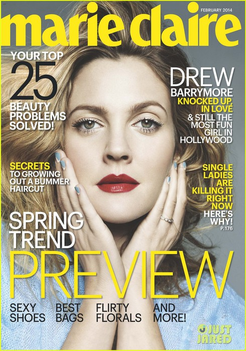 drew-barrymore-covers-marie-claire-february-2014-02 (490x700, 129Kb)