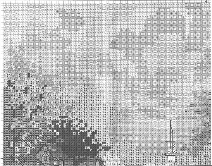 Stitchart-Hometown-Memories1 (700x547, 342Kb)