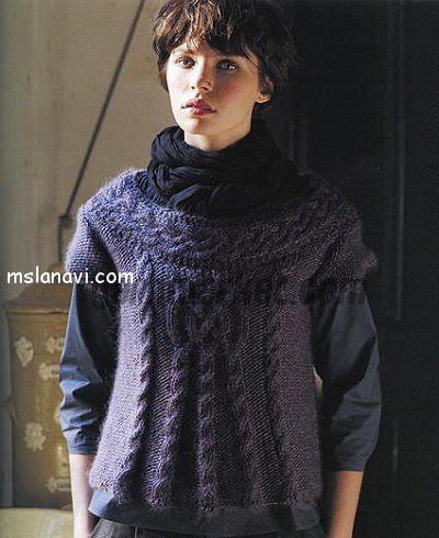 Пуловеры-с-центральной-косой (400x490, 172Kb)