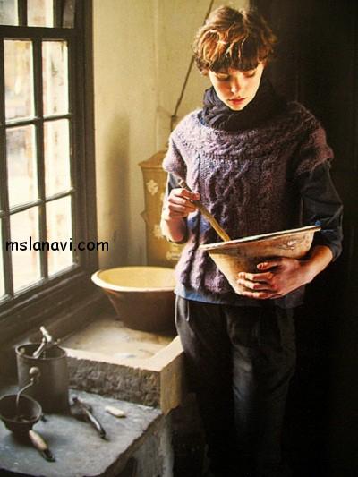 пуловер-с-косами-спинка-Rowan (400x533, 226Kb)