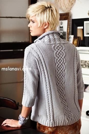пуловер-с-косами-спинка (348x525, 181Kb)