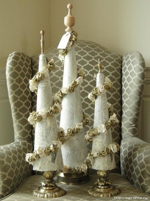 рождественская елка в винтажном интерьере (39) (524x700, 279Kb)