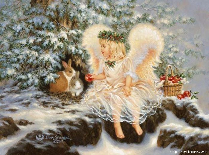 Ангел, Он нам ниспослан к Рождеству!