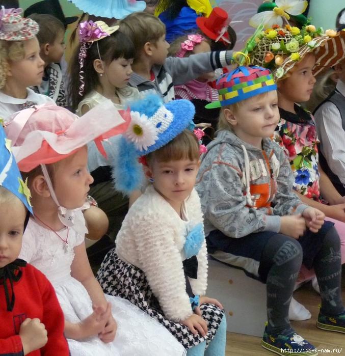 Как сделать шляпу для девочки фото 373