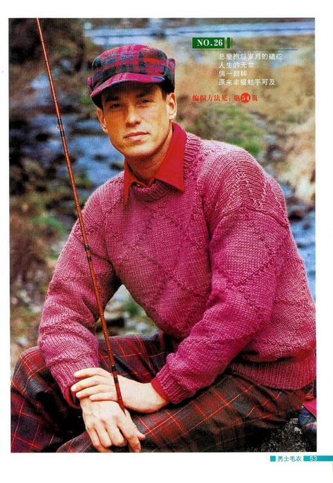Красивые мужские свитера