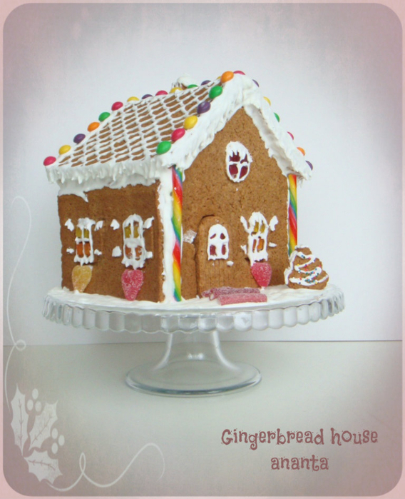 gingerbread house (568x700, 375Kb)