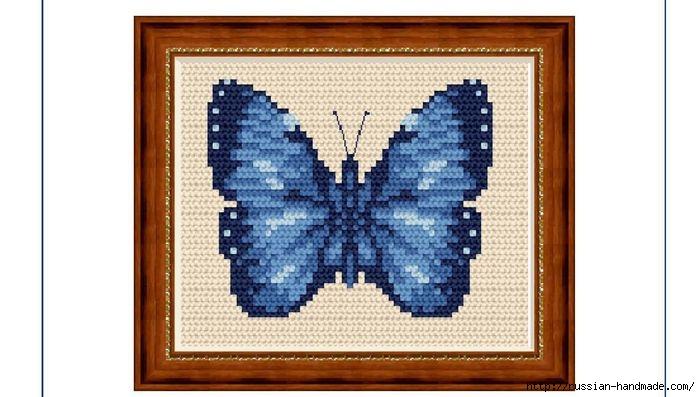 Любителям бабочек. ВЫШИВКА (3) (700x397, 142Kb)