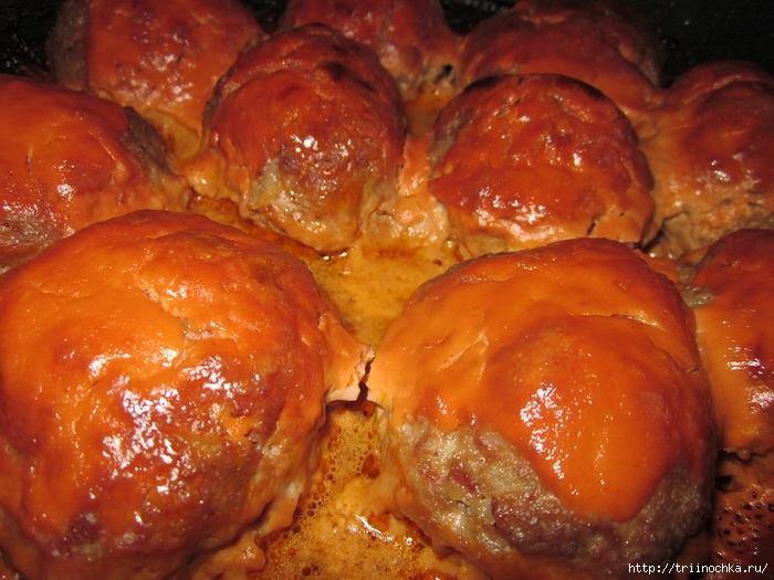 Самое- ТО! Тефтели под сметанно-томатной заливкой