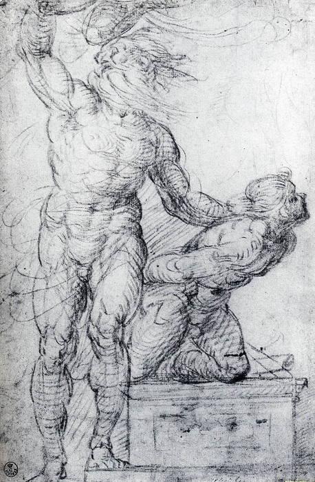 Giovanni Antonio Bazzi detto Sodoma. Martirio di san Sebastiano. 1527 (458x700, 83Kb)