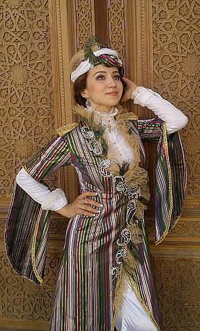 Узбекские платье национальное платье
