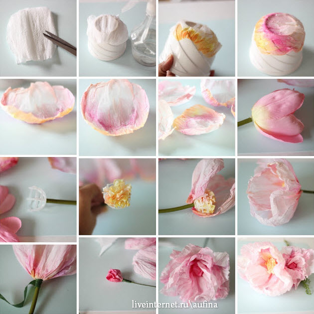 Из чего сделать цветы своими руками в глицерине