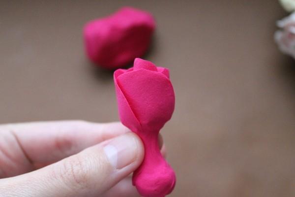 Розы из полимерной глины. СЕРДЦЕ ИЗ РОЗ (10) (600x400, 81Kb)