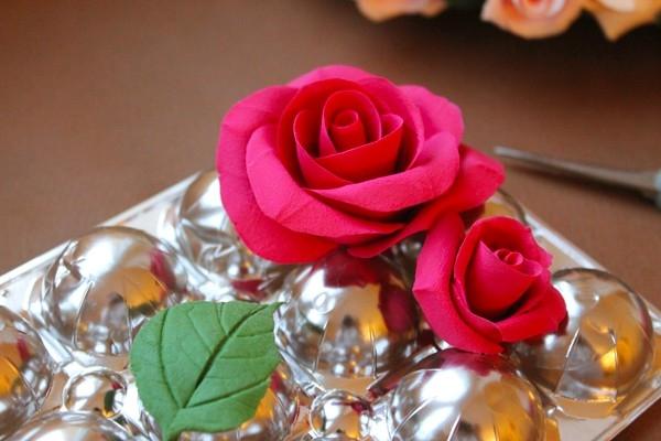 Розы из полимерной глины. СЕРДЦЕ ИЗ РОЗ (30) (600x400, 136Kb)